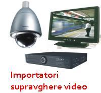 Importatori supraveghere video