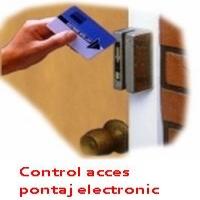 Control acces si pontaj